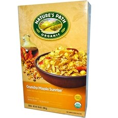 Organic Crunchy Maple Cereal, 10.6 Ounce - 12 per case. by Nature's Path