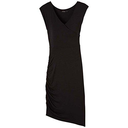 prAna Women's Shayla Dress, Black, Medium