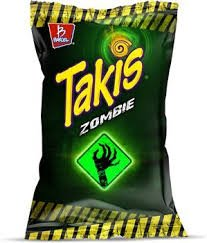 Takis Zombie Habanero & Cucumber Tortilla Chips (Pack of 12) - 4 oz for $<!--$38.45-->