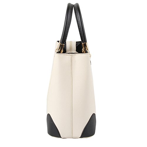 NiaNia ,  Damen Tasche , Rot - rose - Größe: