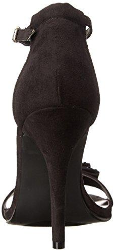 887865274490 - Madden Girl Women's Darlaaa Dress Sandal, Black Fabric, 7.5 M US carousel main 1