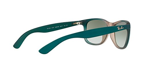 ON BROWN 63688E Ray sol GRAD Ban RB4202 RUBBER ANDY de LT Gafas GREEN wn00afX1zq