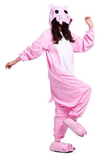 Rosa animal de Traje Hipop Unisex Pijama Adulto Mono Cosplay 0Bpxwqxv1