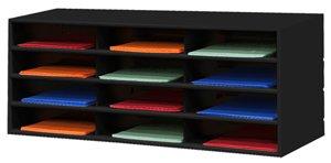 Durham Steel Literature Organizer - 33-3/4 X11-5/8 X14-1/4