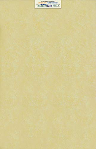50 Gold Parchment 60lb Text Weight 11 X 17 inches Stationery Paper Colored Sheets Tabloid|Ledger Size -Printable Old Parchment Semblance