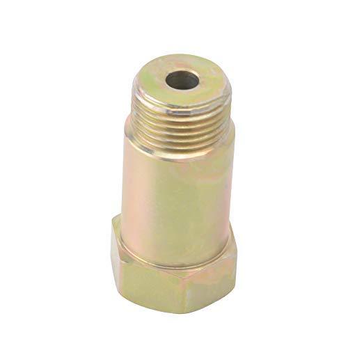 (EVIL ENERGY O2 Oxygen Sensor Spacer Adapter Extender Straight CEL Fix Kit With M18x1.5 Mild Steel)
