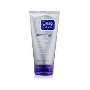 Clean & Clear Advantage 3-in-1 Exfoliating Cleanser - 5 oz - 2 Pack