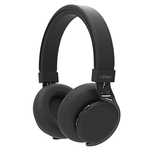 Bluetooth Headphones, Hi-Fi Deep Bass Wireless Headphones with 10 Hours Playtime, Dual 40mm Drivers, Built-in Mic, Wired Mode 3.5mm Aux Support