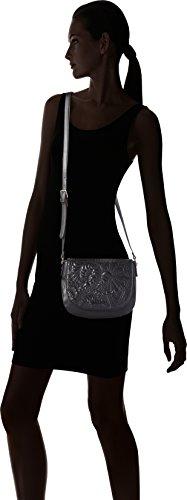 Women's Varsovia Desigual Black Women's Saddle Negro Lottie Black Black Bag Desigual x4tUtRqwO