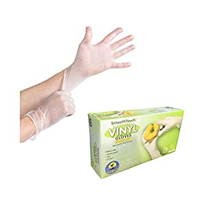 Sunset LAT104PH XL SmoothTouch Disposable Latex Gloves - Powder Free - 100 Per-Box X-Large Gloves
