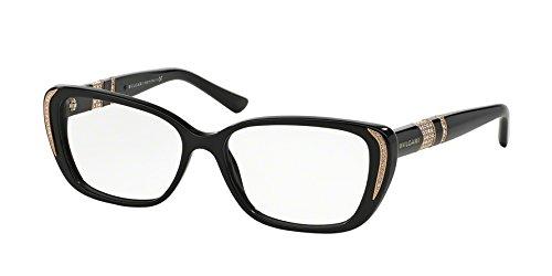 Amazon.com: Eyeglasses Bvlgari BV 4102BM 501 BLACK: Clothing