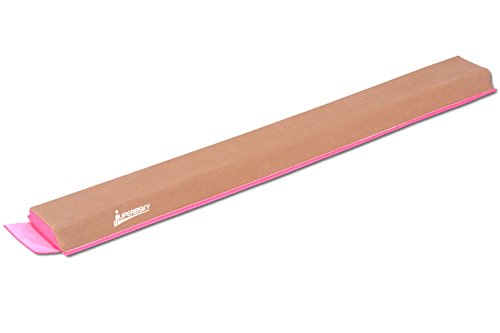 JuperbSky Gymnastics 4 Feet Suede Sectional Floor Foam Practice Balance Beam for kids