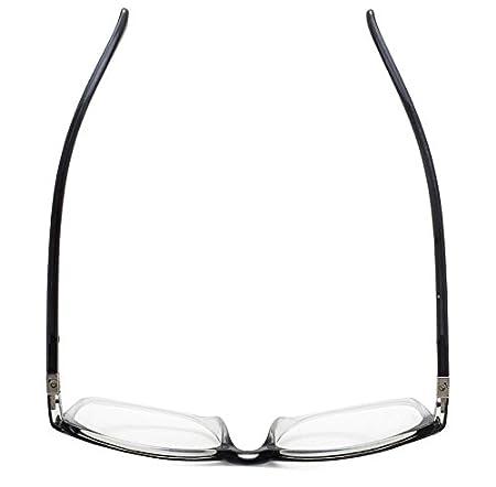 Eyekepper Reading Glasses Fashion Reading Eyeglasses Men Women Brown, 4.00