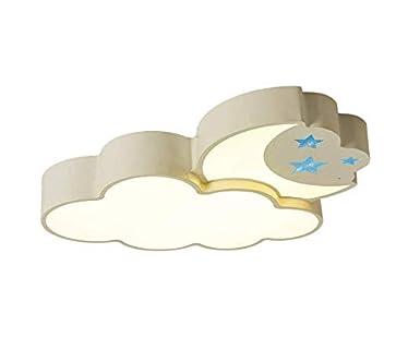 luz Lámpara para bebés Lámpara para niños Lámpara de techo Lámpara de techo Lámparas para niños modernas L59 * W52 * H8.5CM Regulable, regulable