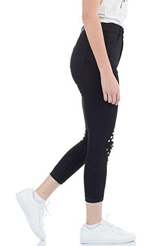 Femme malucas Noir Jeans Jeans malucas Skinny wIqZWp0