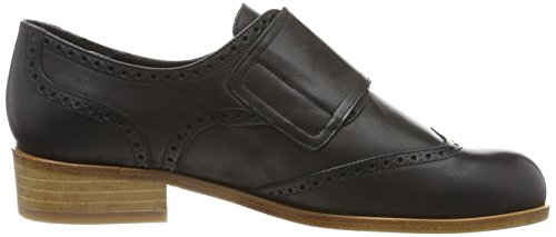 per Woman doppia Black Fibbia Copenhagen formali Cillias in Vitello Monk nero Oxford pelle Gardenia scarpe q4aZ1gUg