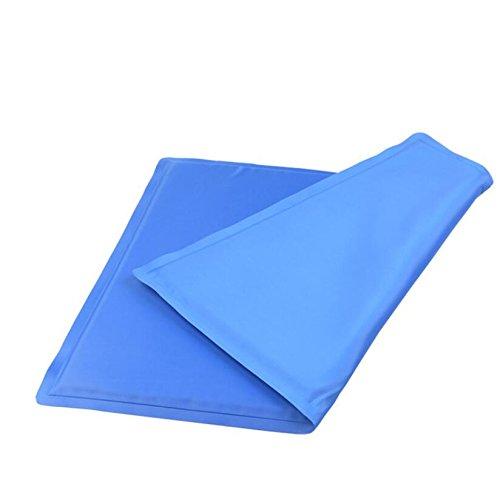 Arbre Cool - Alfombrilla de refrigeración para mascota, resistente al polvo, resistente al agua, fácil de limpiar (azul): Amazon.es: Hogar