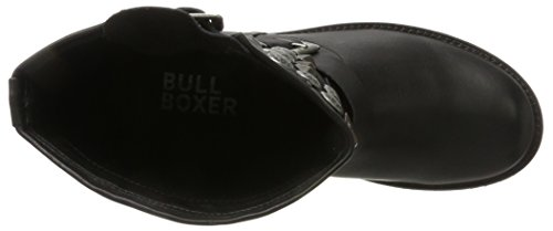 Bullboxer 427511e6l - Botas estilo motero Mujer Schwarz (Black)