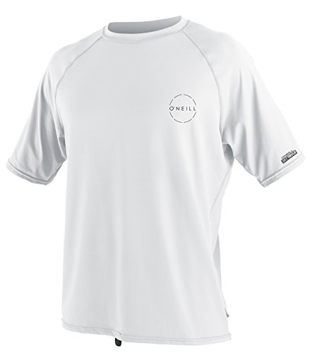 Fit Traveler (O'Neill Men's 24-7 Traveler Upf 50+ Short Sleeve Sun Shirt, White, X-Large)