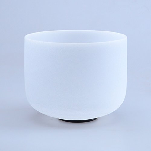 "8"" F Heart Chakra Quartz Crystal Singing Bowl"