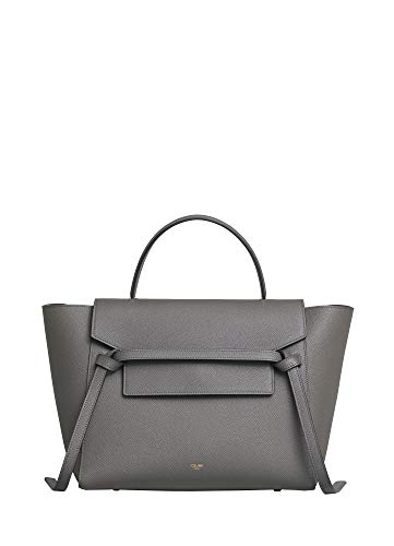 (FB-CELINE MINI BELT BAG IN GRAINED CALFSKIN (Grey))