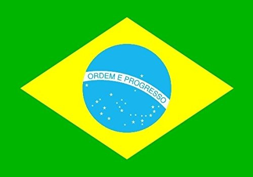 U24Bandiera Bandiera Brasile Boot Bandiera qualità premium 20x 30cm