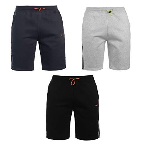 (Pierre Cardin Tech Shorts Mens Bottoms Short Pants Summerwear Black XX-Large)