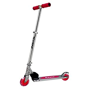 Razor A Lighted Wheel Kick Scooter - Pink