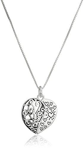 Sterling Silver Daughter Pendant Necklace