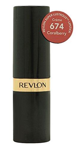 Revlon Super Lustrous Lipstick, Creme, Coralberry - Creme Super Revlon Lipstick Lustrous