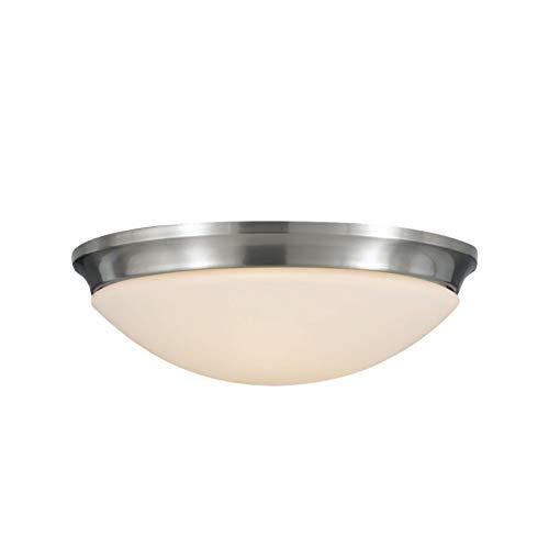 Sea Gull Lighting FM273BS Indoor Three Light Flush Mount, 17