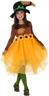 Atosa-23713 Disfraz Espantapájaros, color naranja, 3 a 4 años ...