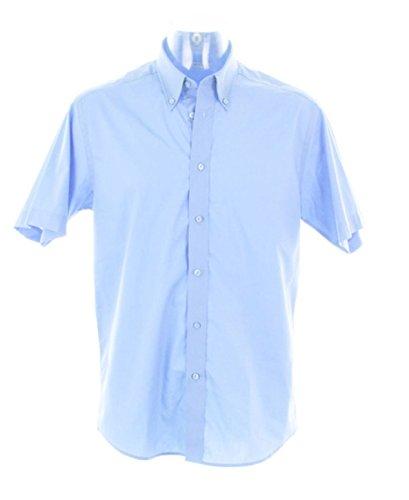 Kustom Kit-Maglietta a maniche corte da donna City KK385 da 17 , colore: blu
