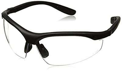 Radians CH1-120 Cheaters Nylon Frame Reading Safety Glasses with Clear 2.0 Lens