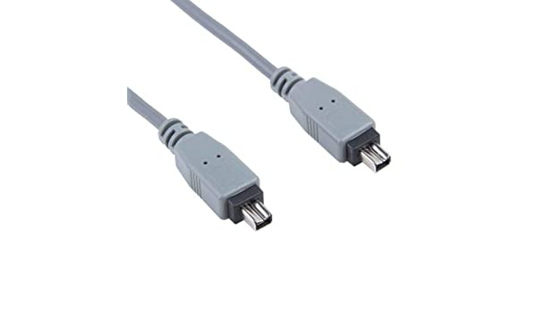 Replacement Firewire iLink 6-4 Pin DV Video Cable Cord Lead for Sony DCR-TRV140//e Nowak Technology