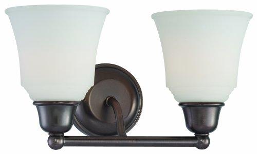 Thomas Lighting 190012715 Cresset Wall Lamp, Oiled Bronze ()