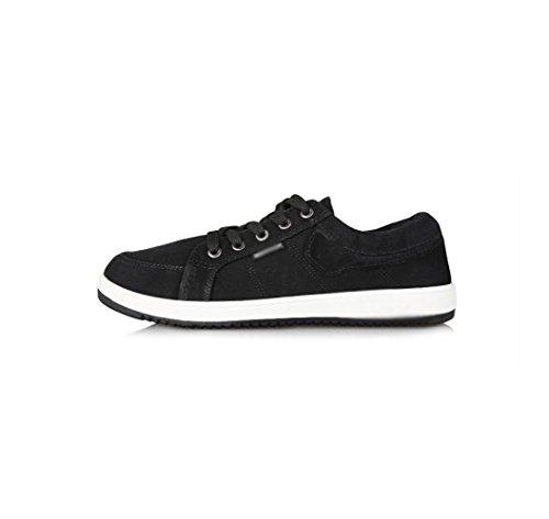casual tendenza selvaggio aiutare scarpe basso per con estate uomo tela uomini primavera Scarpe di WFL casual casual degli da scarpe Nero ed moda scarpe Bw1nHpq