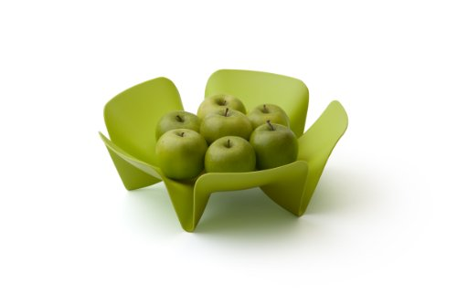 Qualy Flower Fruit Tray Blue by Qualy (Image #5)