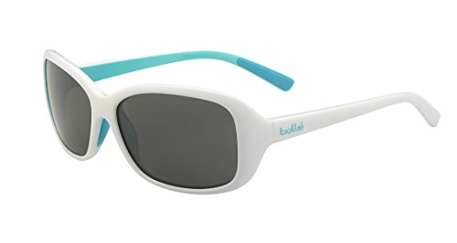 Bolle Sport Edge (Bolle Youth Jenny Junior Sunglasses, Shiny White/Turquoise, Small)