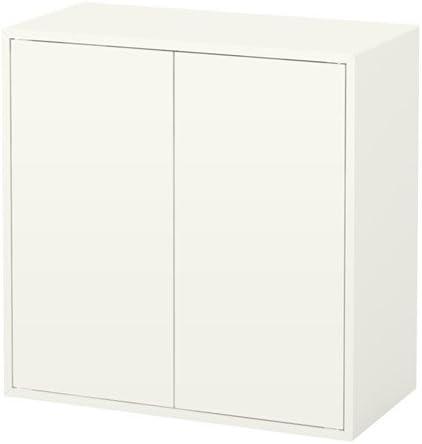 IKEA 628.111129.226 - Armario con 2 puertas y estante, color blanco: Amazon.es: Hogar