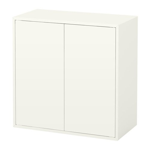 Ikea Cabinet with 2 doors and shelf, white 628.111129.226