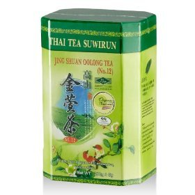 Suwirun Jing Shuan Oolong Organic Tea No.12 (It's the Best Fragrance for Oolong Tea) 200g.