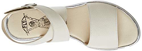 Para Sandalia 006 London Fly Pulsera Mujer Marfil Con silver Clop009fly offwhite xUTw6X6q1