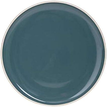 Lot de 6 Assiettes PlatesSofia 27cm Vert Secret de Gourmet