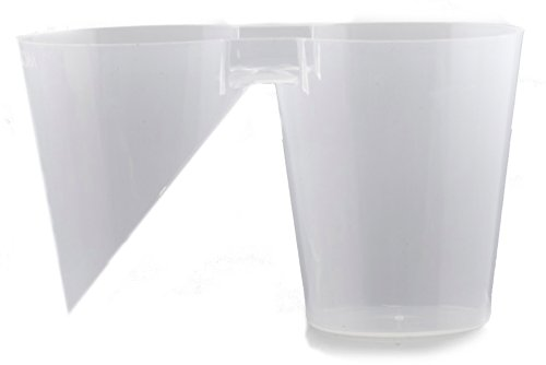 MOAB Cups, Mother Of All Bombs, Plastic Shot Glasses, Clear, 20 Count