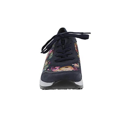 Zapatos Para Lugina Cordones Notte Mujer Marine Multi De dqFFwHxrvt