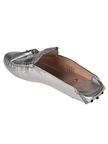 Mujer Plata Tod's Zapatos Xxw00g0x070mecb200 Cuero PwZZxHfdWq