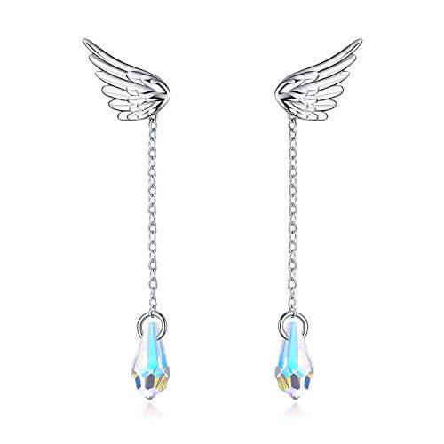 AOBOCO Angel Wing Crystal...