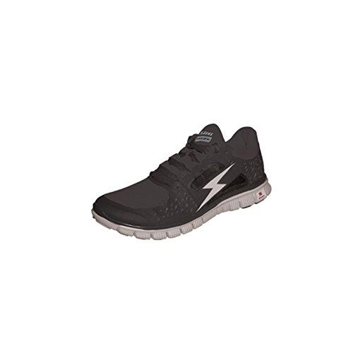 Chaussure Hermes nero-bianco Zeus Gym Gymnastique Football Futsal Sport Running le fitness football