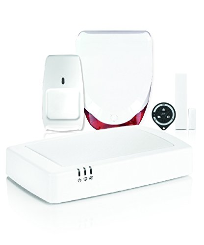 Honeywell hs913s Kit de Alarma doméstica inalámbrica, Color Blanco